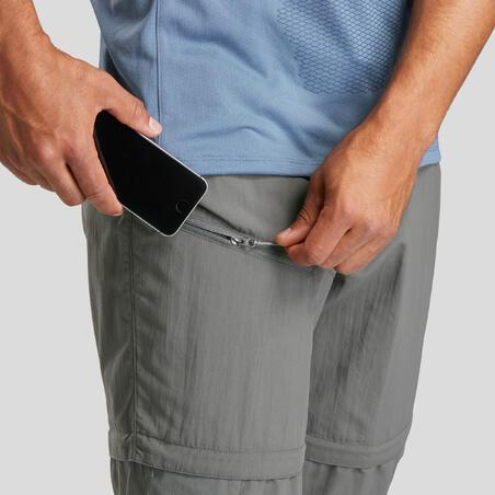 Pantalon de randonnée convertible MH150 – Hommes