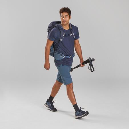 Playera de manga corta de senderismo montaña - MH500 - Hombre