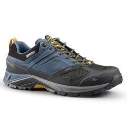 男款防水登山健行鞋MH500-藍色