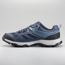 Chaussures de randonnée montagne - MH100 Bleu - Homme
