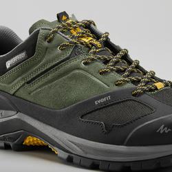 Chaussures imperméables de randonnée montagne - MH500 Khaki- Homme