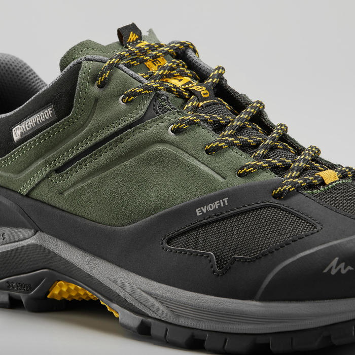 防水登山遠足鞋 - MH500 - 卡其 - 男裝