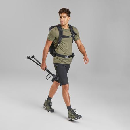 Playera de manga corta de senderismo montaña - MH100 - Hombre