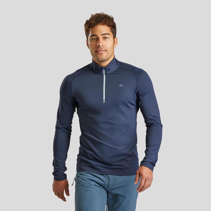 Tee-Shirt manches longues de randonnée montagne - MH900 - Homme