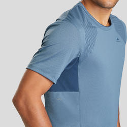 Tee-Shirt manches courtes de randonnée montagne - MH900 - Homme