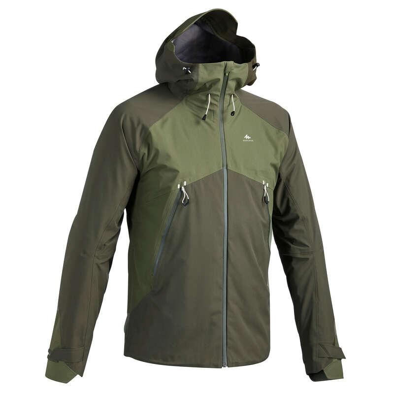 GIACCHE MONTAGNA UOMO Sport di Montagna - Giacca uomo MH500 verde QUECHUA - Trekking uomo