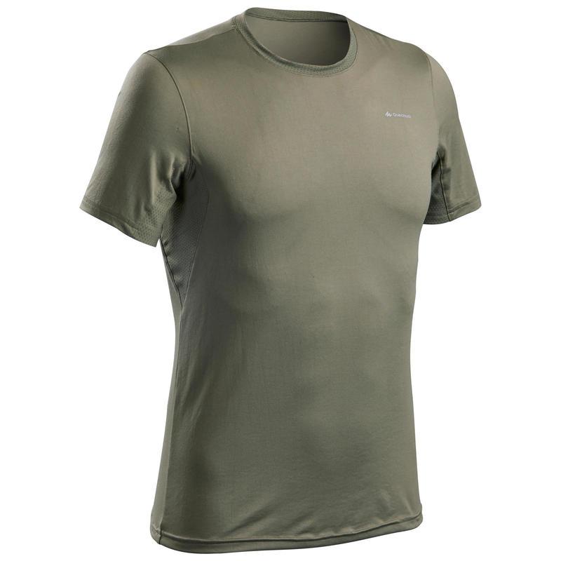 Koszulka turystyczna z krótkim rękawem - MH100 - męska