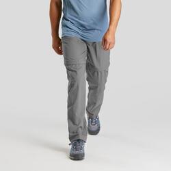 Pantalon de randonnée montagne MH150 modulable homme gris