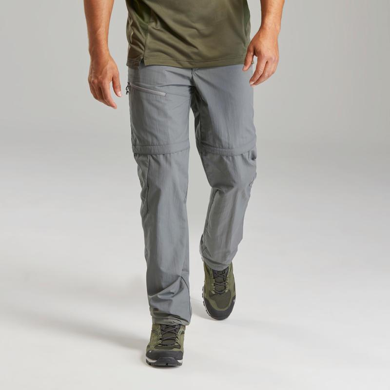 Men's Modular Mountain Walking Trousers MH150