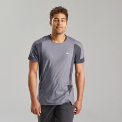 Men's short-sleeved mountain walking t-shirt MH500