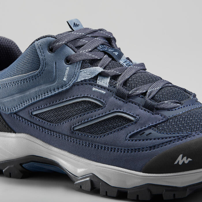 Bergwandelschoenen voor heren - MH100 - blauw