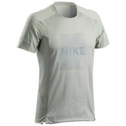 T-shirt de Caminhada na montanha - Homem - MH500 Caqui claro