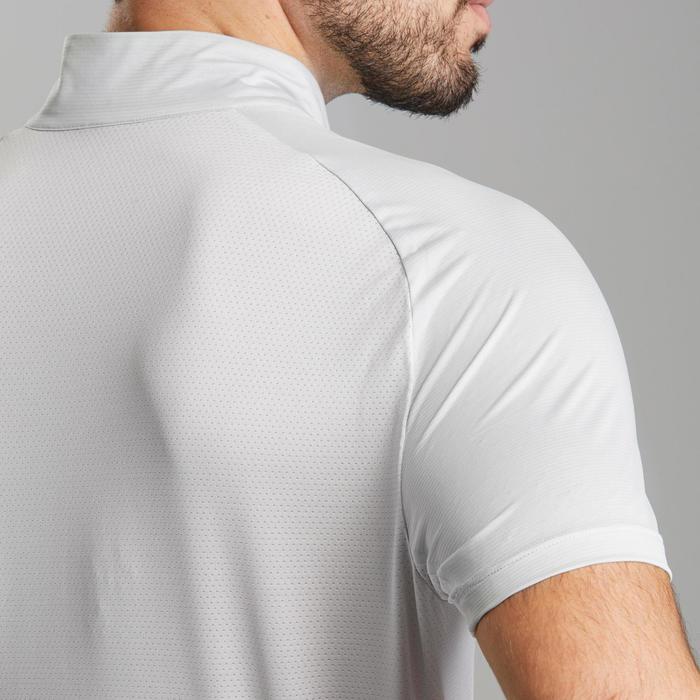男款極速健行短袖T恤FH500-月岩灰