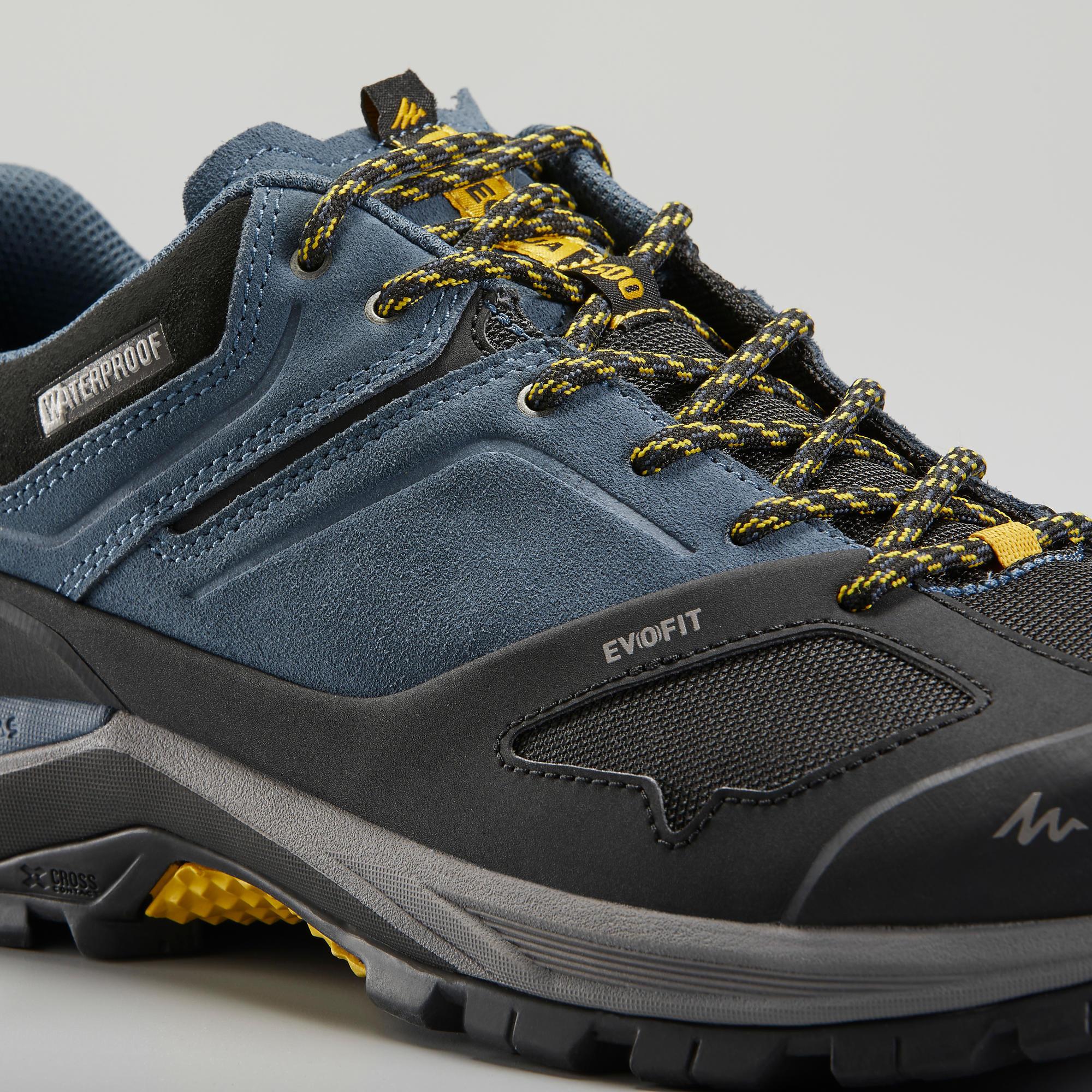 Men's waterproof mountain hiking shoes