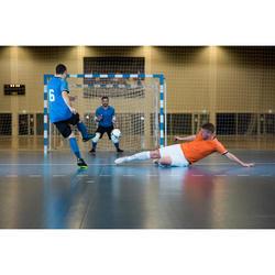 男款室內五人制足球緊身上衣-藍色
