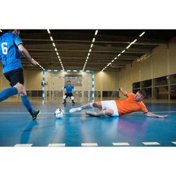 男款室內五人制足球緊身上衣-橘色
