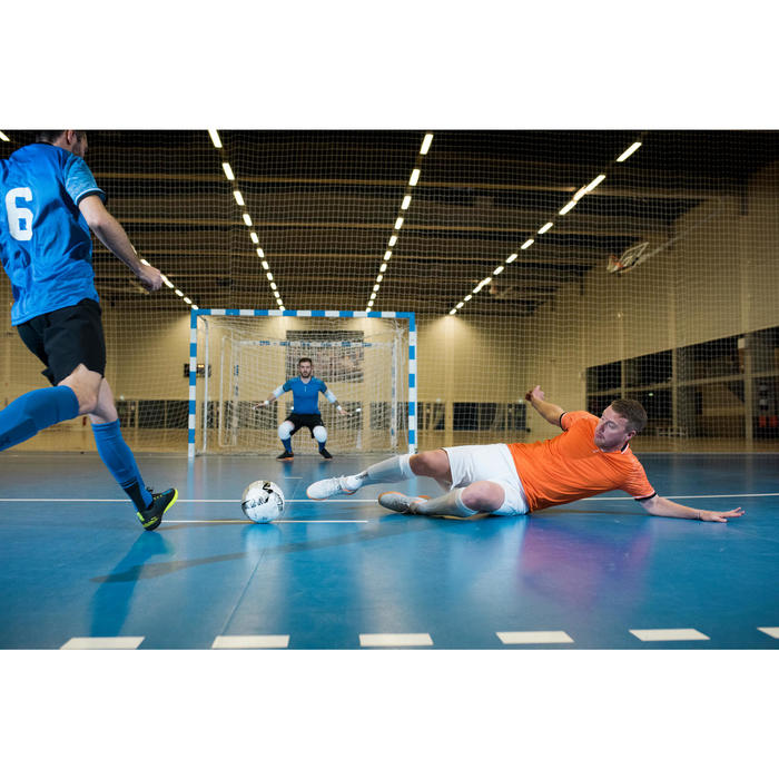 Zaalvoetbalschoenen Eskudo 900 lichtgrijs