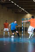 PÁNSKÉ OBLEČENÍ NA FUTSAL Futsal - FUTSALOVÉ KRAŤASY ČERNÉ  IMVISO - Fotbal (test)