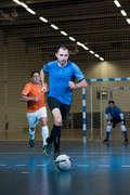 MEN FUTSAL CLOTHING Football - Adult Futsal Shirt - Blue IMVISO - Football Clothing