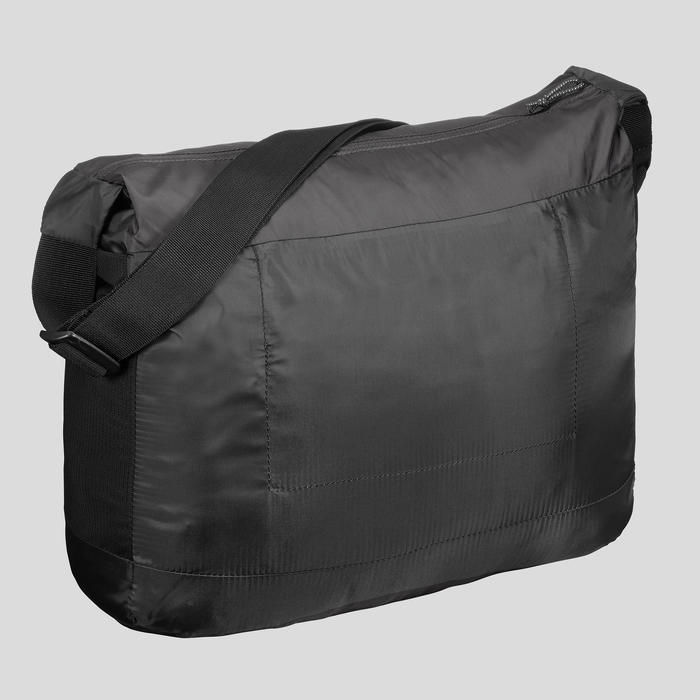 Besace compact 15 litres trek voyage | TRAVEL 100 noir