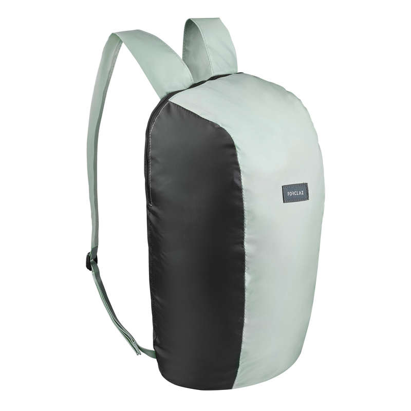 COMPACT BACKPACKS TRAVEL ACC TRAVEL TREK Hiking - Compact 10L Backpack Tvl - Kki FORCLAZ - Hiking Backpacks and Bags