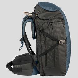 Trekking Travel Backpack 40 Litres | TRAVEL 100 - Blue