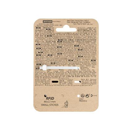 Paquete 2 candados con llaves TSA de trekking viaje - negro