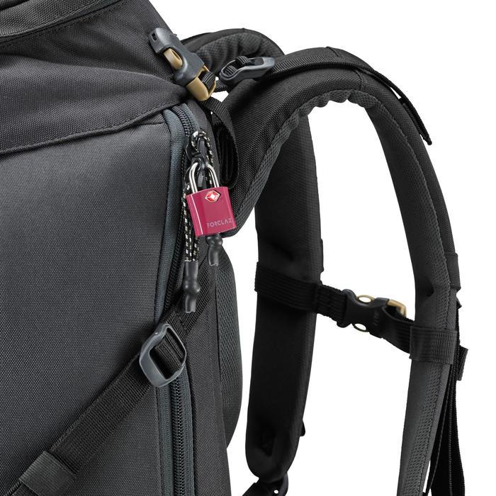 Set 2 TSA-hangsloten voor trekking - paars met sleutels