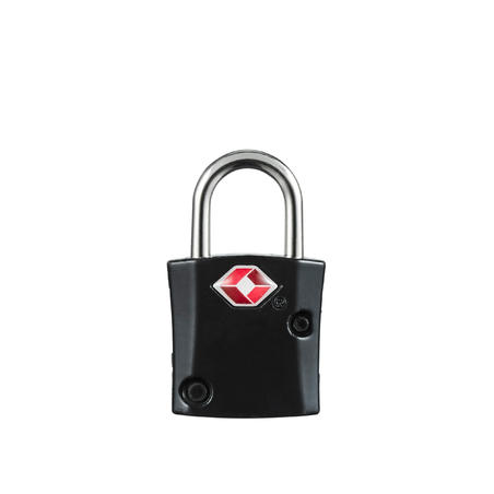 Set of 2 TSA trekking travel key padlocks - black