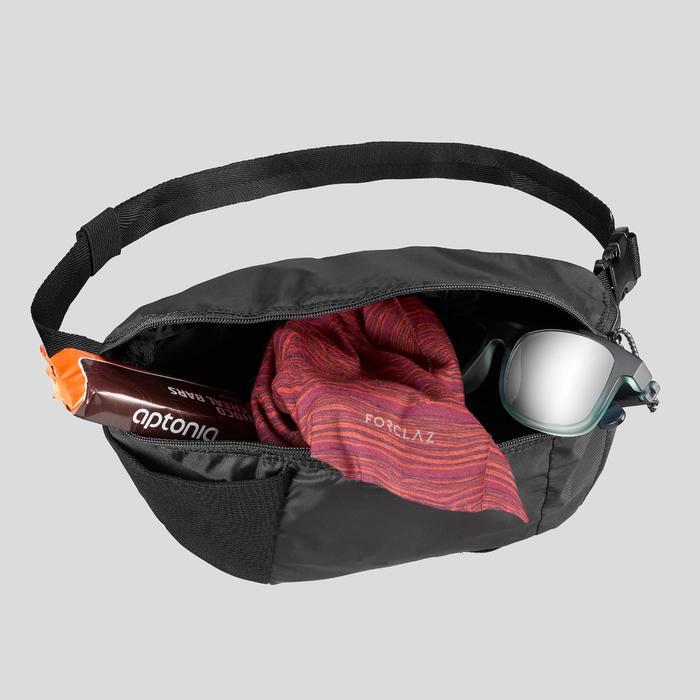 Heuptasje voor backpacken TRAVEL 100 zwart 2 l