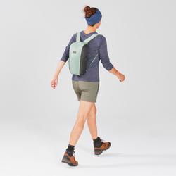 Compact Travel Trekking Backpack TRAVEL 10 L Khaki