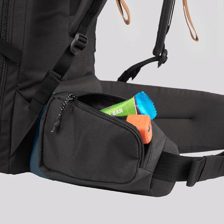40 litre trekking travel rucksack   TRAVEL 100 - Blue