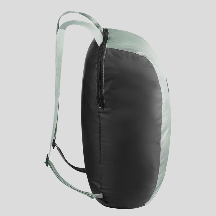 Travel Trekking Compact 10 Litre Backpack Travel 100 - Khaki