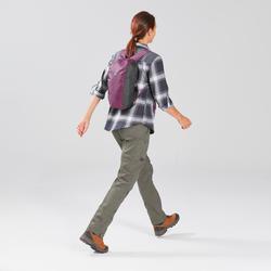 COMPAC 10 L健行旅行帆布背包|TRAVEL 100-紫色