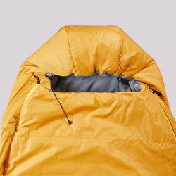 Slaapzak voor trekking Trek 500 5° geel
