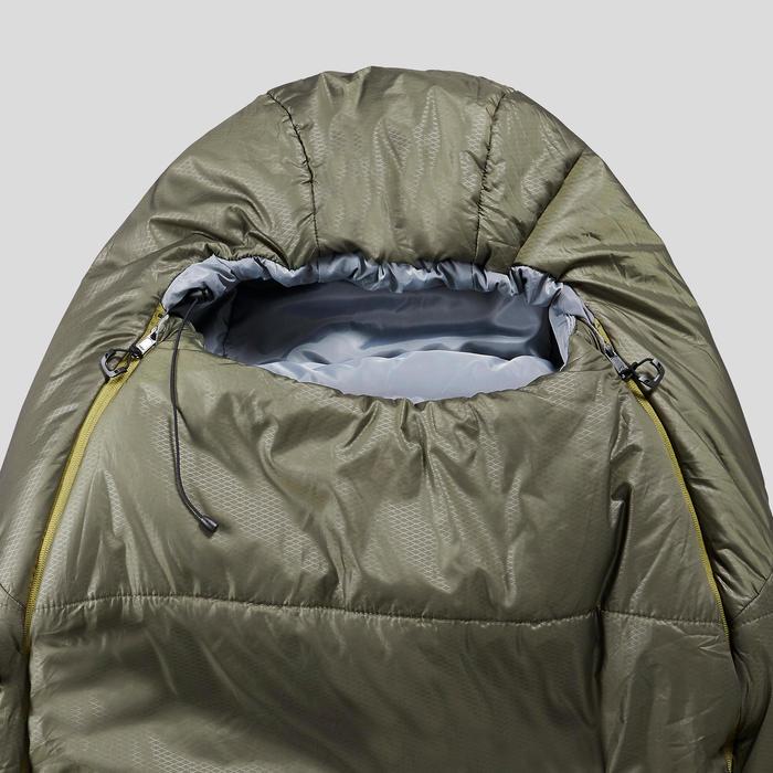 Sac de couchage de trekking - TREK 500 0° light brun