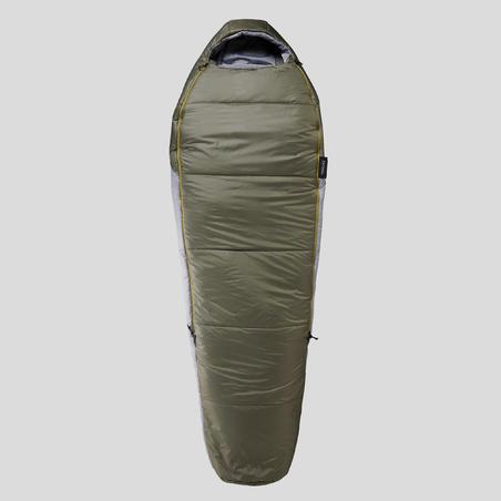 Kantong Tidur trekking - TREK 500 0° Ringan - Coklat
