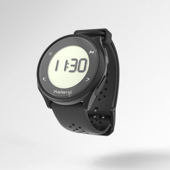 KALENJI HR 500 HEART RATE RUNNING WATCH - BLACK