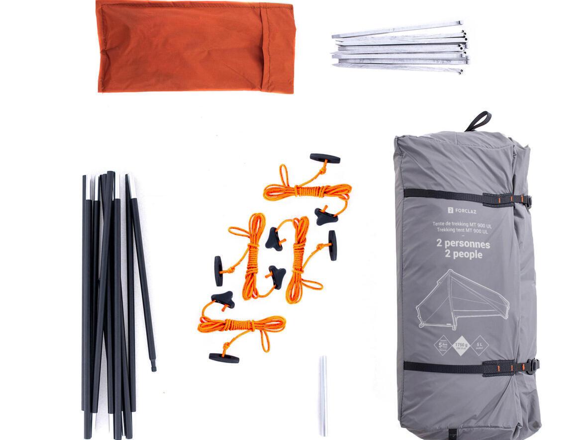 matériel pour camper pour la première fois