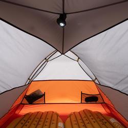Tente de trekking autoportante 3 saisons - TREK 900 grise 2 personnes