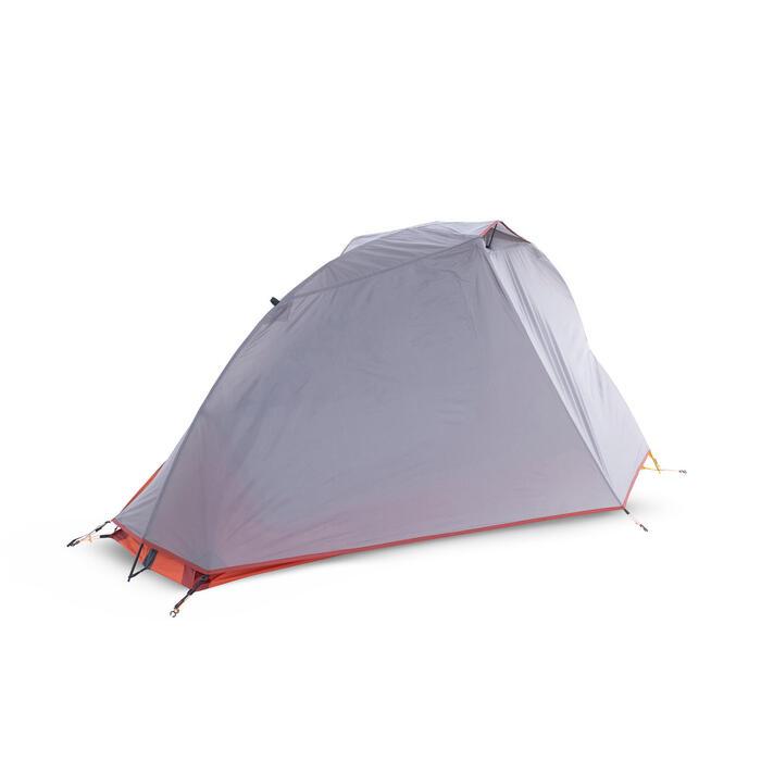 Self-standing 3 Seasons Trekking 1 Person Tent - TREK 900 - Grey