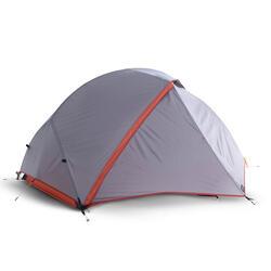 Tenda trekking autoportante 3 stagioni TREK900 grigia   2 posti