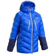 Women's Mountaineering Down Jacket MAKALU - Blue