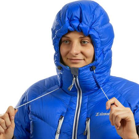 Women's Mountaineering Down Jacket - Makalu Blue