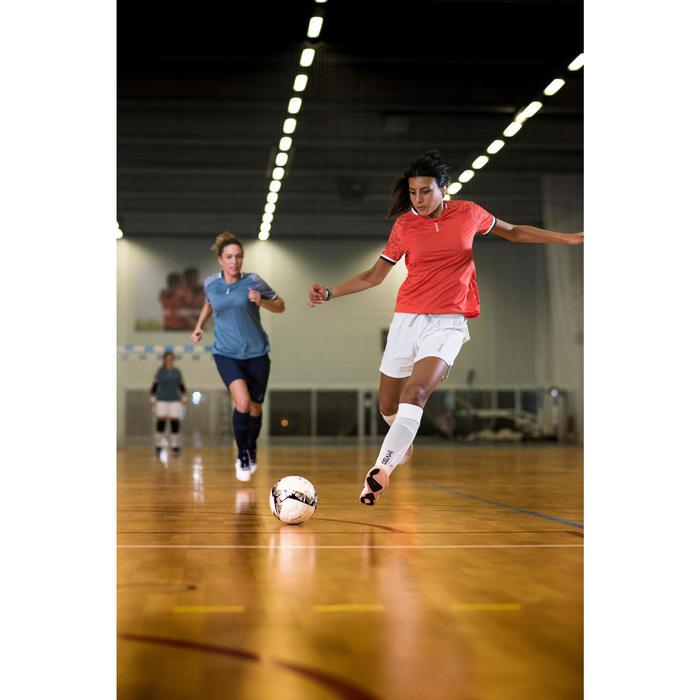 Short de fútbol sala blanco Mujer