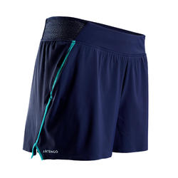Tennisshort voor dames SH Light 900 marineblauw