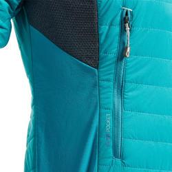 Doudoune hybride synthétique d'alpinisme femme - SPRINT Bleu