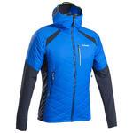 Simond Hybride gewatteerde herenjas voor alpinisme Sprint blauw