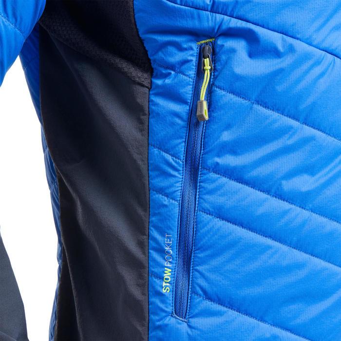 Doudoune hybride synthétique d'alpinisme homme - SPRINT Bleu