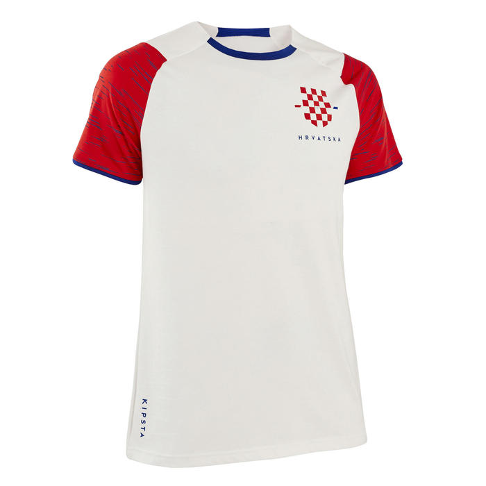 T-shirt de football adulte FF100 Croatie domicile